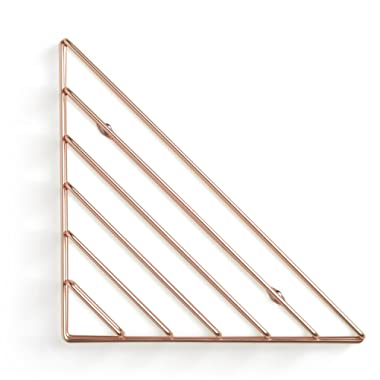 Umbra Strum Wall Shelf, Copper