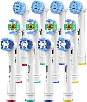 3Testine Originali Oral-B Ricambio Spazzolino Elettrico 3D White Denti Bianchi