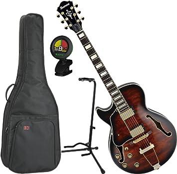 Ibanez Artcore AG95 en estilo expresionista guitarra de cuerpo hueco para zurdos guitarra eléctrica w/