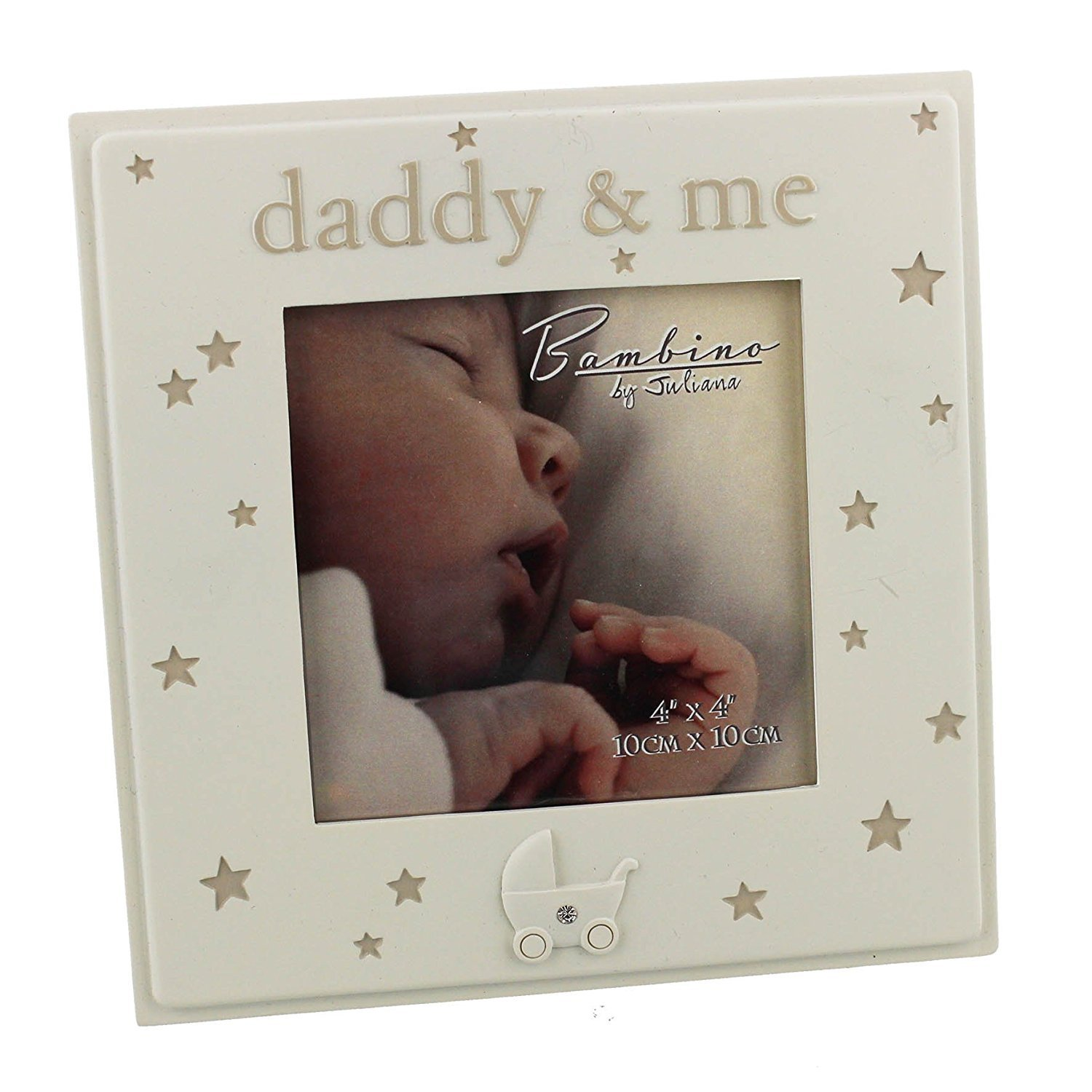 Oaktree Gifts Daddy & Me Resin Photo Frame 4 x 4 WB-CG1371