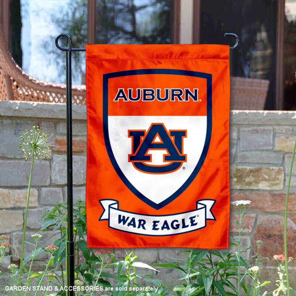 College Flags and Banners Co Auburn Tigers Banner with Hanging Pole
