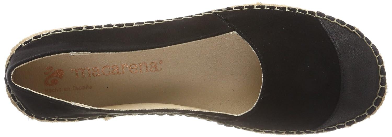 Macarena Damen Elisa47-am Espadrilles Schwarz Schwarz Espadrilles (Negro/Negro) 938912
