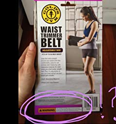 Golds gym waist trimmer belt cancer warning