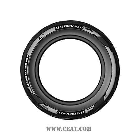 Ceat Zoom Rad X1 150/60 R17 66H Tubeless Bike Tyre, Rear (Home Delivery)