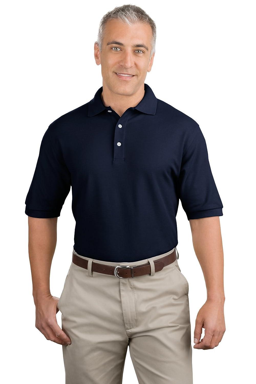 Jerzees Cotton Jersey Polo, Black