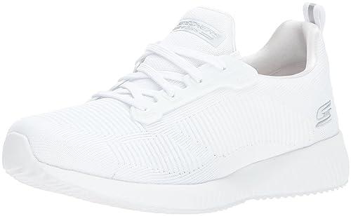 Skechers Bobs Sport-Insta Cool, Zapatillas Para Mujer, Blanco (White), 38 EU