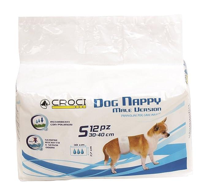 Croci Quitar para Macho Perro, pequeño, 30 - 40 cm, Juego de 12: Amazon.es: Productos para mascotas