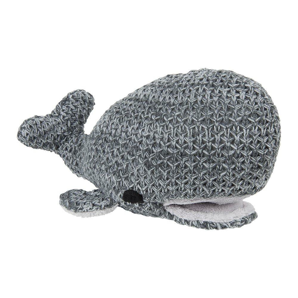 Bébé S ONLY Baleine poisson 30 cm River Anthracite/gris mélangé