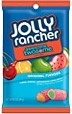 JOLLY RANCHER AWESOME TWOSOME Chewy Candy, Watermelon-Green Apple/Cherry-Orange, 6.5 Ounce Bag (Pack of 12)