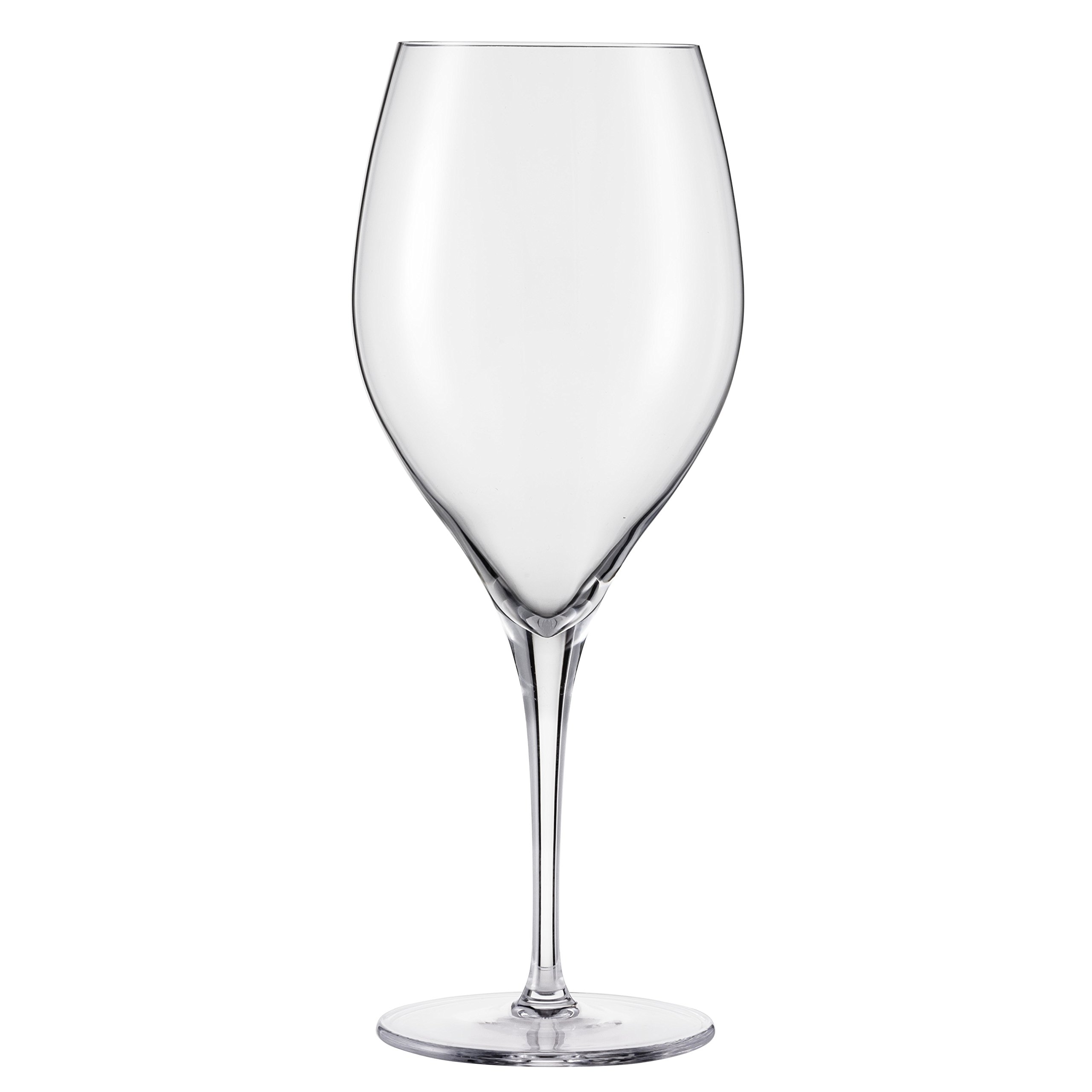 Schott Zwiesel Tritan Crystal Glass Grace Stemware Collection All Purpose, Red or White Wine Glass, 16.2-Ounce, Set of 8