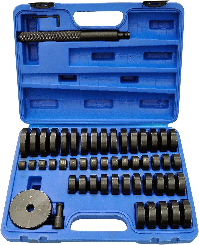 Druckstück Treibsatz Lager Schalen 52 Tlg Montagescheiben Buchsen Simmering 52 Tlg Druckstück Press Werkzeug Baumarkt