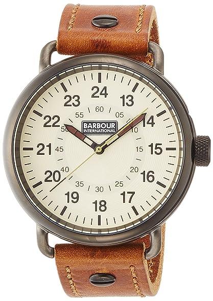 BARBOUR INTERNATIONAL watch leather strap BB022GDBR Men's [regular imported  goods]