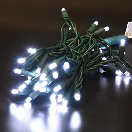 ul certified 50 count christmas lights outdoor mini led string lights for garden patio party holiday