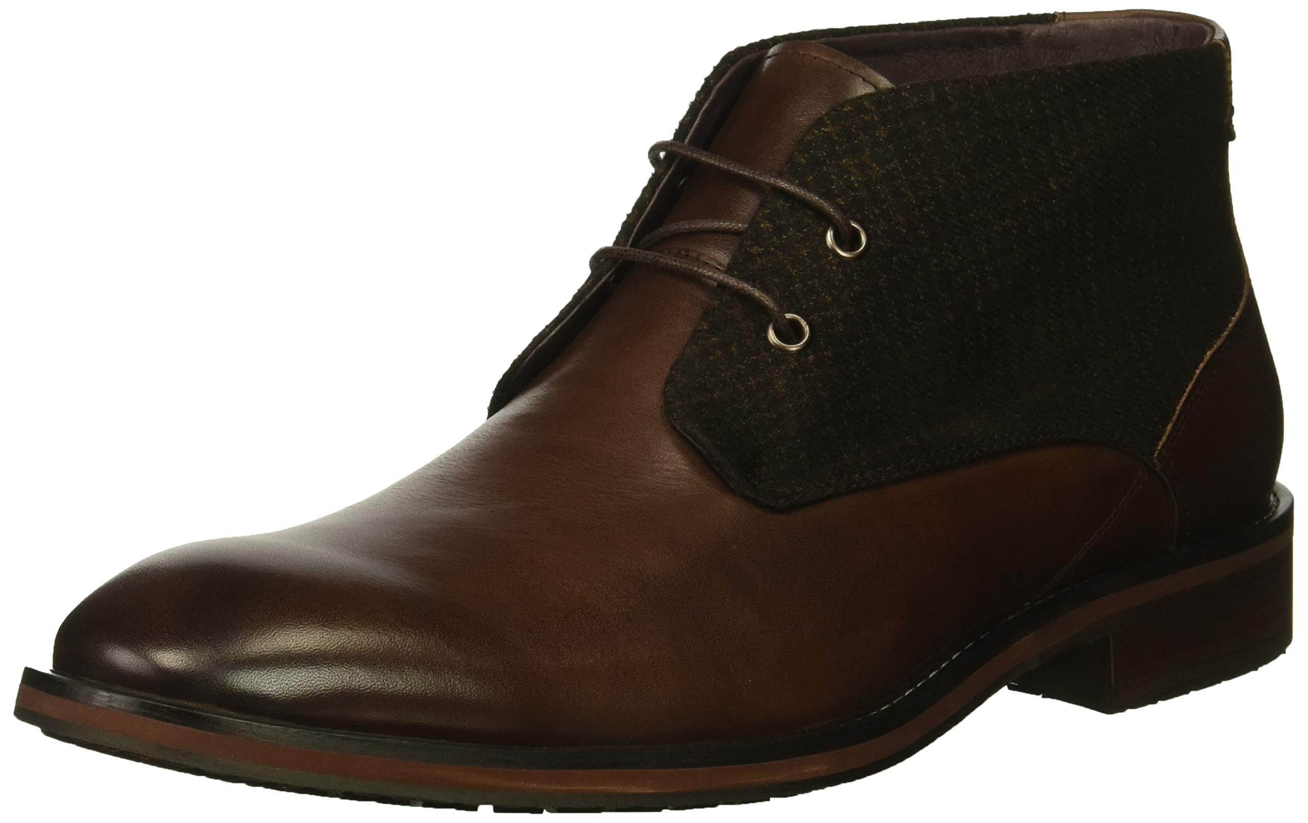 ZANZARA Men's NEBOT Chukka Boot, Brown, 10.5 M US by ZANZARA