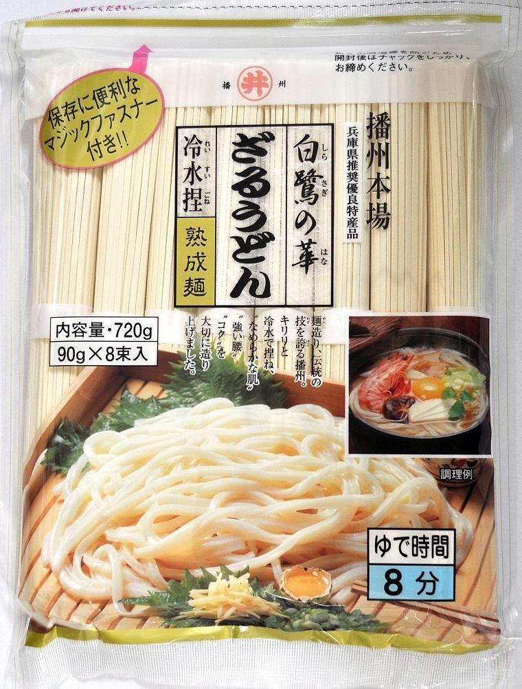 Hana of East Asia food Egret Zaru Udon 720g