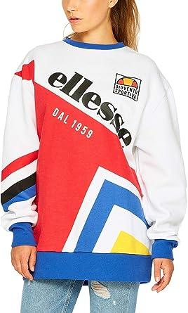 3151c86e14e76 ellesse Sweat Dolomito Blanc 34 XXS (XX-Small)  Amazon.fr  Vêtements ...