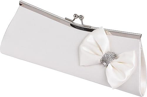 LEXUS - Cartera de mano Mujer, color Blanco, talla: Amazon.es: Zapatos y complementos