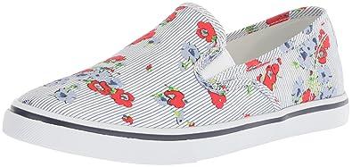Janis Floral Printed Slip-On Sneakers dvvkHaqXi
