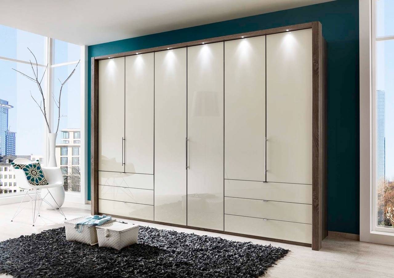 kleiderschrank schlafzimmerschrank w scheschrank dreht renschrank schrank 6 t rig. Black Bedroom Furniture Sets. Home Design Ideas