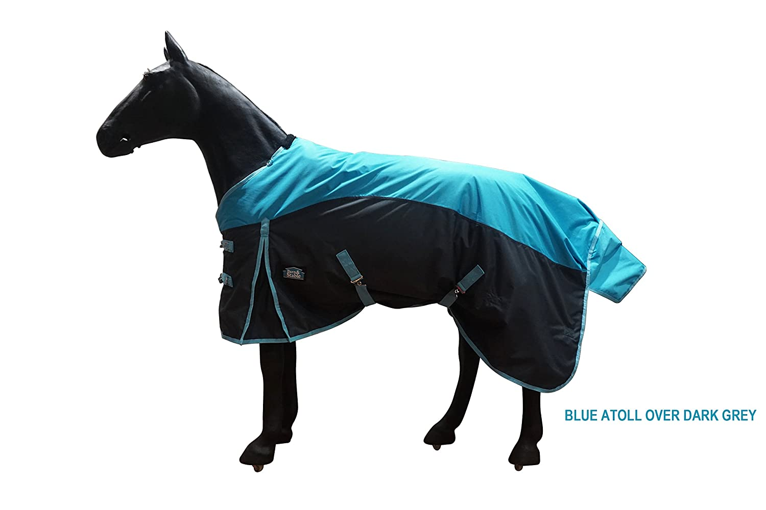 Barn & Stable Horse Blanket Turnout Blanket 600D, 210D Lining and 200grm Fill-Hurry! Buy 1 Get 1 Free Tote!