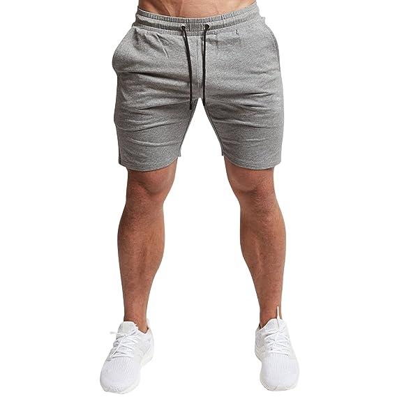 Libertepe Hommes Shorts Bermudas Cargo Outdoor Coton Casual Lâche Poche  Elastique Pantalon Court Gris FR40( f865e8099a0