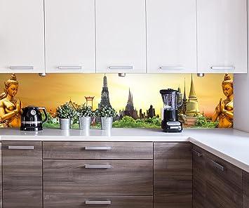 Küchenrückwand Thailand-Konzept Nischenrückwand Spritzschutz Design ...