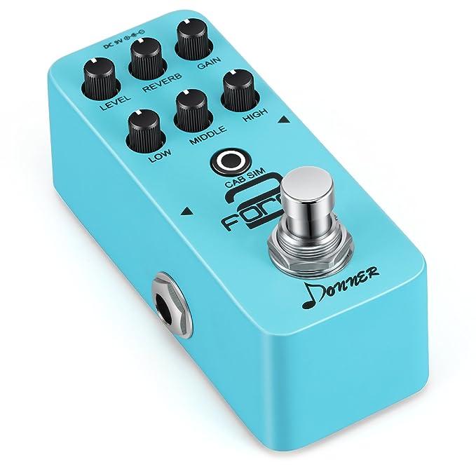 Donner Force 2 Mini Preamp Guitarra eléctrica Guitarra ...