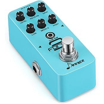 donner force 2 mini electric guitar preamp effect pedal musical instruments. Black Bedroom Furniture Sets. Home Design Ideas