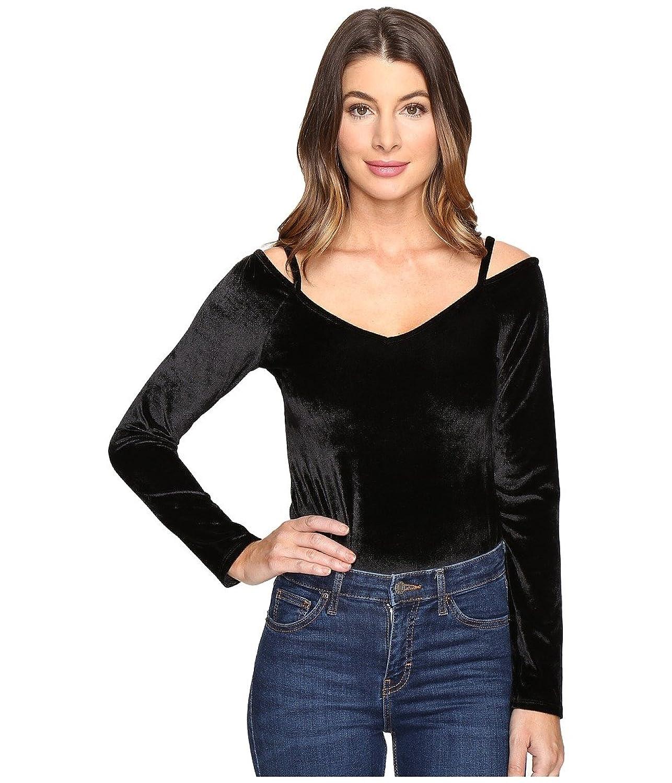 Project Social T Womens Alannah Velvet Bodysuit