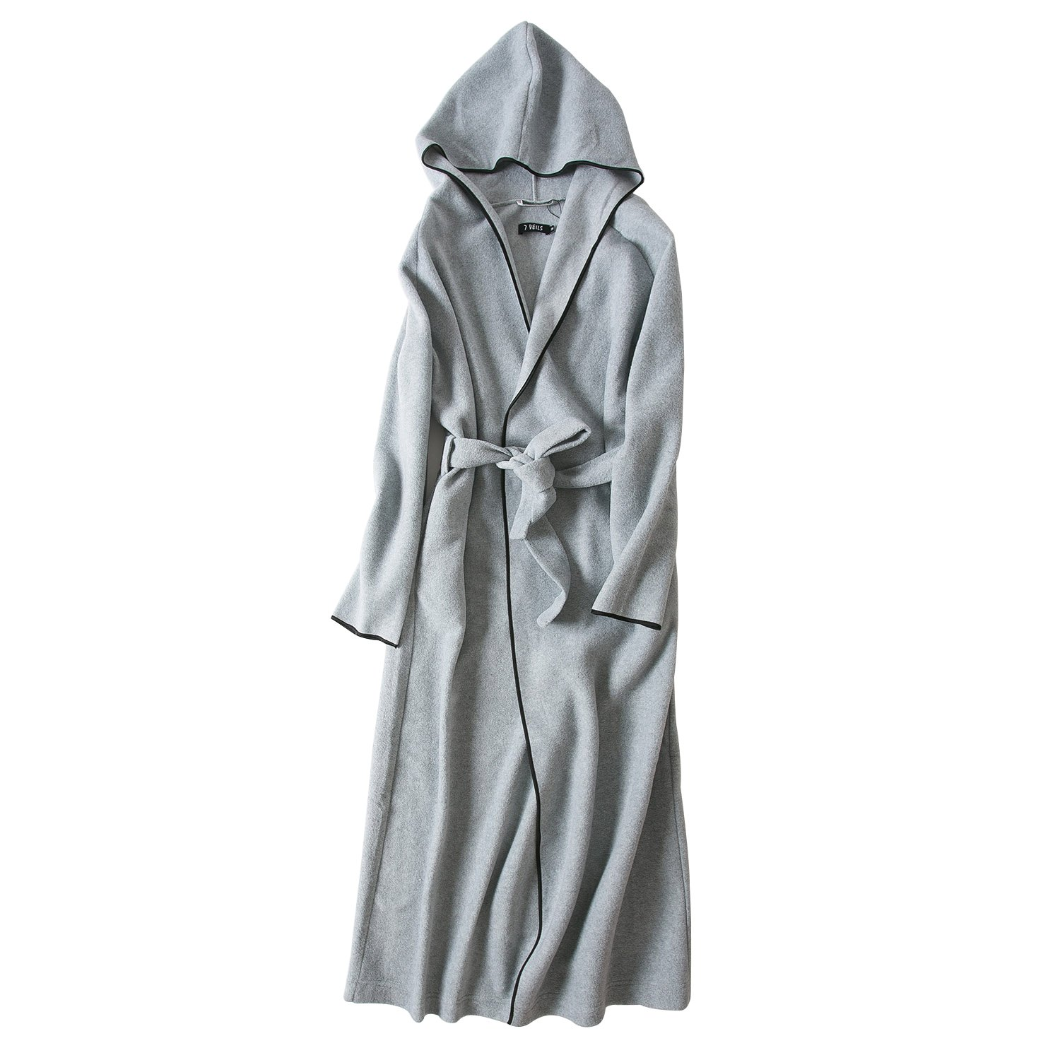 c1bb3b2fcb 7 VEILS Women and Men Microfleece Ultra Long Floor-Length Hooded Bathrobes   Amazon.ca  Clothing   Accessories