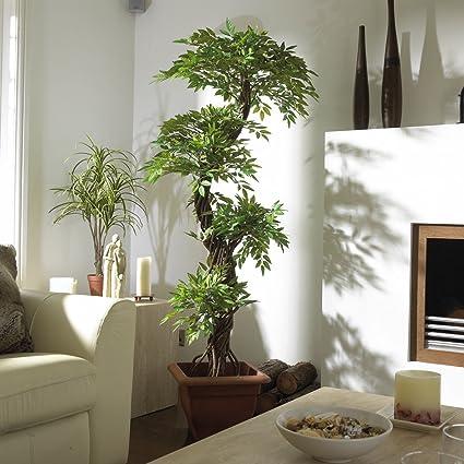 Large Quality Stylish Artificial Japanese Fruticosa Tree, Luxury Handmade  Using Real Bark Replica Fake Indoor