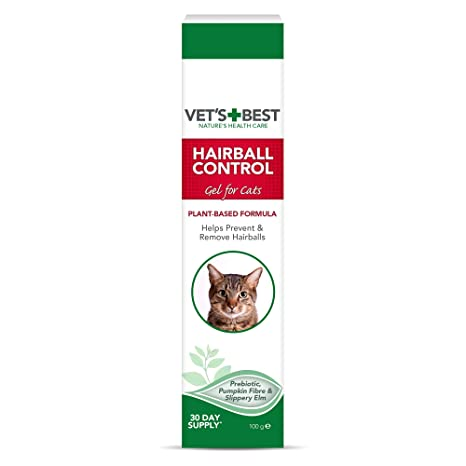 Vets Best Gato Hairball Relief Digestive Aid Gel 1 Unidad 100 g ...