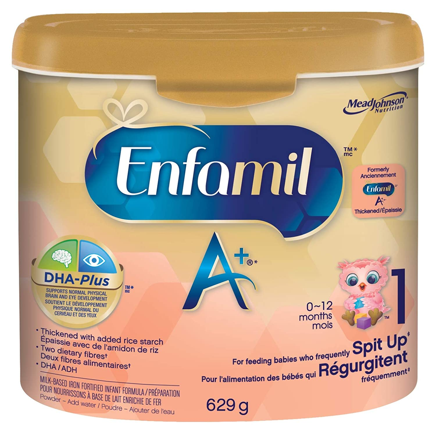 Enfamil A+ Enfamil A+ Spit Up Powder 629g 629 Gram Mead Johnson Nutrition