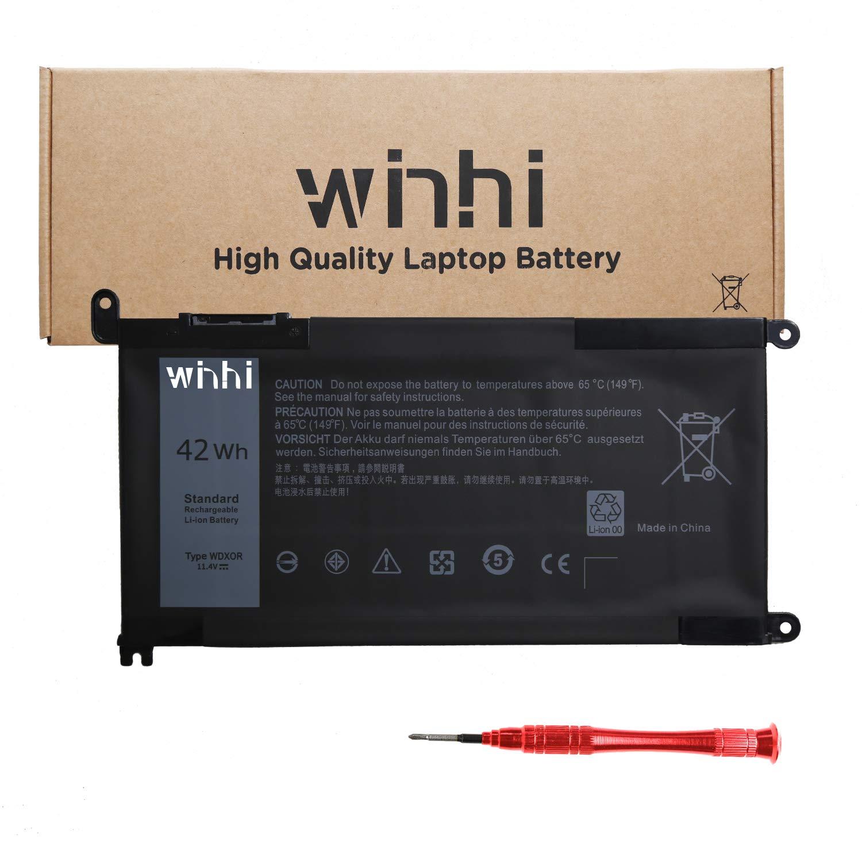 Bateria WDXOR WDX0R para Dell Inspiron 15 5565 5567 7569 17