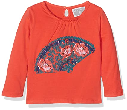 3347d60c6 Rockin Baby Girl's RB0541 23 Top, Red (Red), 2-3 Years: Amazon.co.uk ...