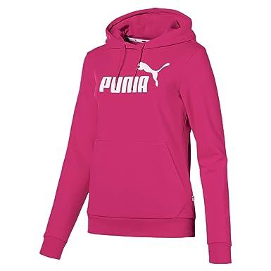 best authentic c3a3e 55bc0 Puma Damen ESS Logo Hoody FL Sweatshirt