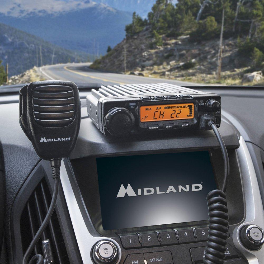Midland Consumer Radio MXT400 Micro Mobile 40 W Mobile Gmrs Radio by Midland (Image #1)