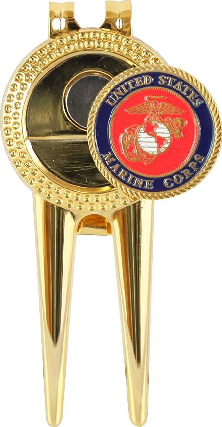 Amazon.com: US Marine Corps Divot Repair Tool con marcador ...
