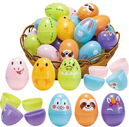 New 70 Easter Foam White SMALL Eggs Hunt Party Accessory Bonnet Craft Accessory