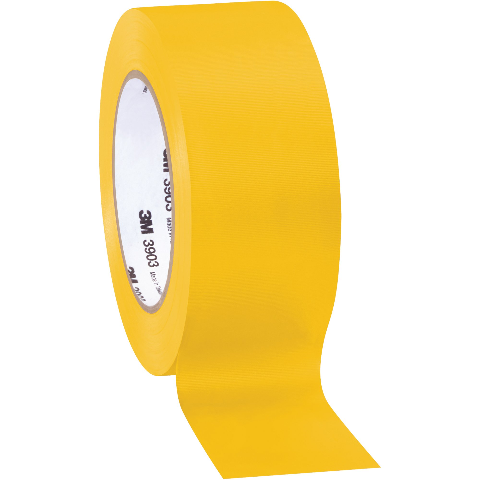 Top Pack Supply 3M 3903 Duct Tape, 6.3 Mil, 2'' x 50 yds. Yellow (Case of 3)