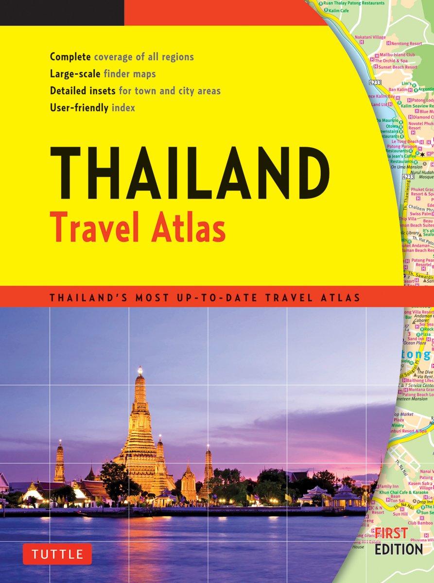 Thailand Travel Atlas: Amazon co uk: Periplus Editors