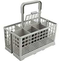 Haundry Universal Dishwasher Cutlery Basket (9.5 x 5.4 x 4.8 inches) Compatible with Kenmore, Whirlpool, Bosch, Maytag…