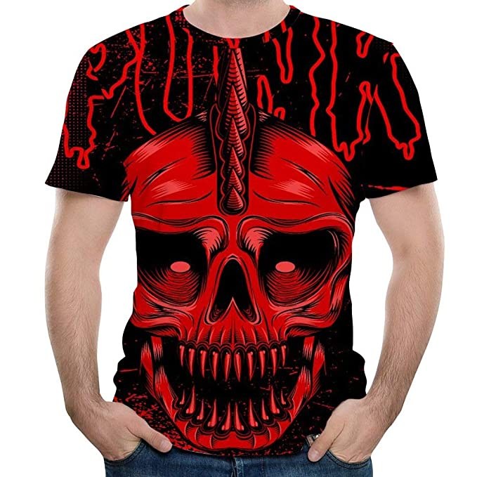 Short Sleeve T-Shirt Creative Crewneck Graphic Printed Tee Tops Short Sleeve Tees NANWUGAO 3D T-Shirt