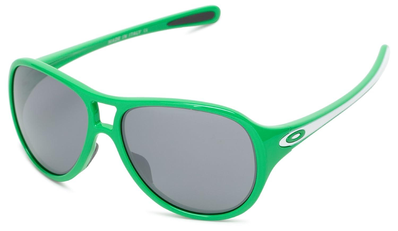 Green Money FrameBlack Iridium Lens, Black : Oakley