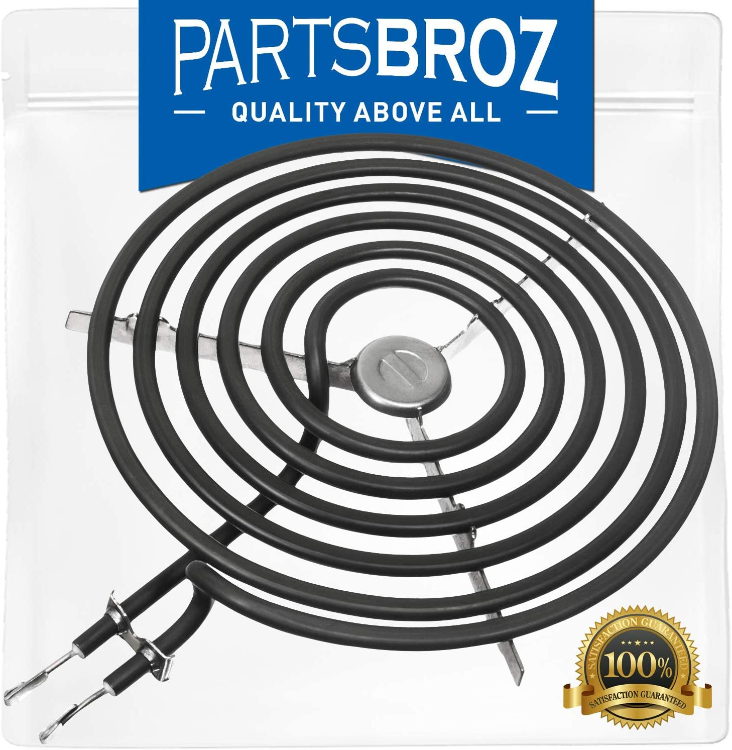 WB30M2 8-inch Surface Range Element for GE Electric Ranges by PartsBroz - Replaces AP2634728, 340524, AH243868, EA243868, PS243868, WB30K5027, WB30M0002, WB30X5072, WB30X5120, WB30X5122, WB30X5130
