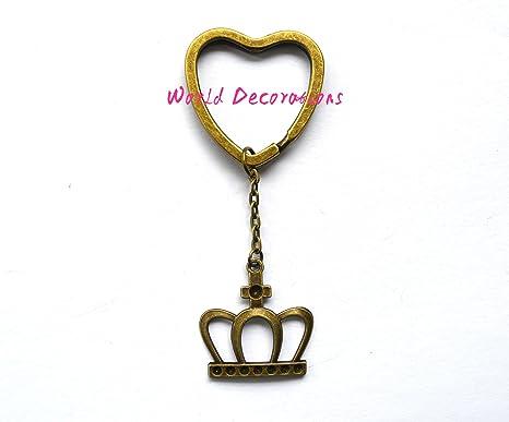 Corona Llavero, llavero, bolso, bolso, llavero, diseño de ...