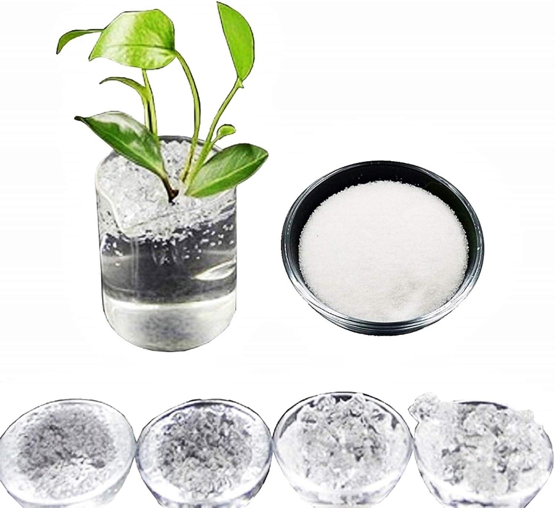 polyacrylate excellent quality agriculture superabsorbent polymer KIRALOVE Crystal hydrogel original gift idea potassium cultivation super earth for garden sap flowers 1 kg