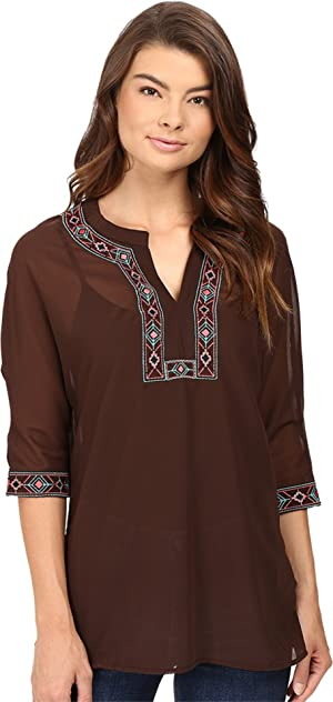Rock and Roll Cowgirl Women's 3/4 Dolman Sleeve B4-8373