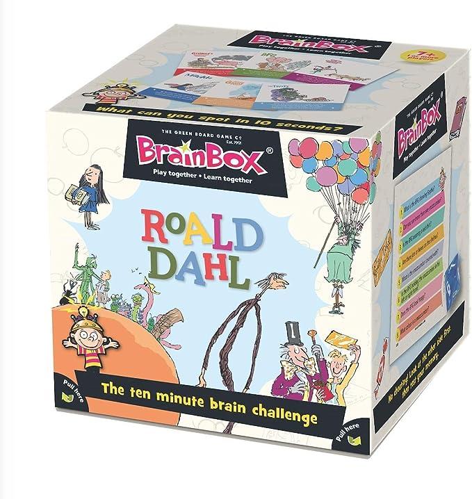 Roald Dahl GRE91030 BrainBox 2019 Edition, Multicolor: Amazon.es: Juguetes y juegos