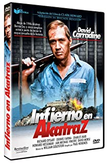 Infierno en Alcatraz (Six Against the Rock) 1987 [DVD]